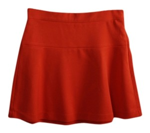 Gap Red Mini Skirt tomato red
