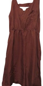 Covet short dress rust on Tradesy