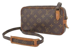 Louis Vuitton Marly Bandouliere Monogram Cross Body Bag