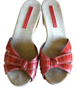 Marc Jacobs Red Mules