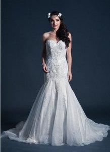 Kari Chang Eternal Kari Chang Eternal Kcw1577 Lace Trumpet Wedding Dress