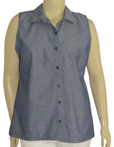 French Laundry Top Chambray/Floral