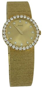 Piaget Piaget Lady's Yellow Gold Diamond Wristwatch