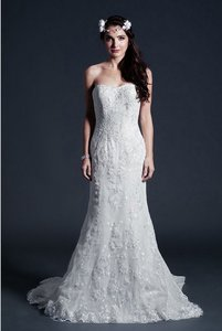Kari Chang Eternal Kari Chang Eternal Kcw1578 Lace Trumpet Wedding Dress