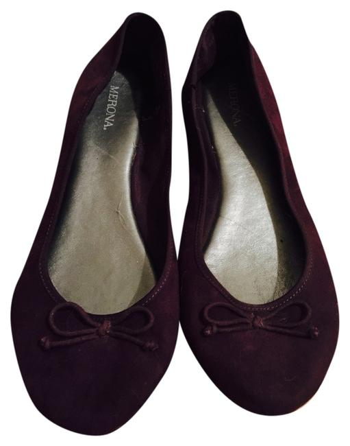 Item - Purple New Suede Ballet Flats Size US 9 Regular (M, B)