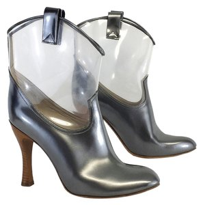 Marc Jacobs Silver Clear Boots