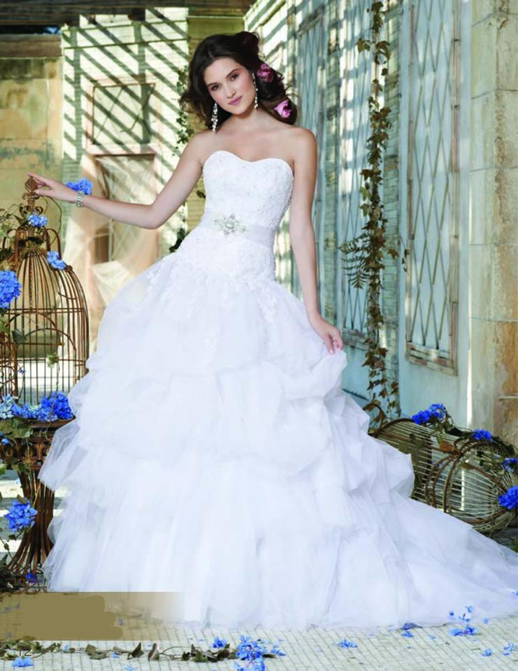 Christian michelle 9352w wedding dress for Christian michele wedding dress