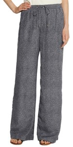 Michael Kors Wide Leg Pants midnight-blue and white Java pants