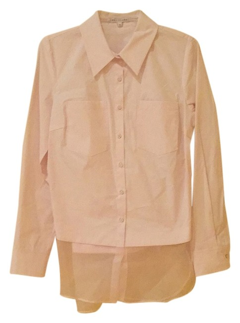 Preload https://img-static.tradesy.com/item/7091128/baby-pink-peek-out-shirt-button-down-top-size-6-s-0-1-650-650.jpg
