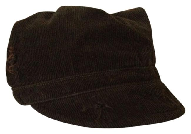 Item - Dark Olive Green Tattered Design Hat