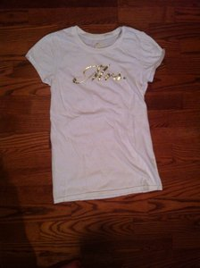 "Kate Spade White ""Mrs."" T-shirt"