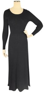 Black Maxi Dress by Margaret O'Leary Bodycon Stretch Travel Knit