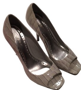 BCBGMAXAZRIA Grey Platforms