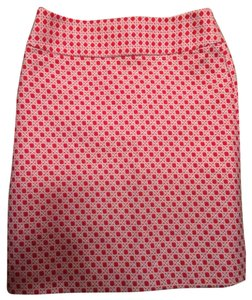Talbots Skirt Red and White
