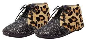 House of Harlow 1960 Black/Leopard Boots
