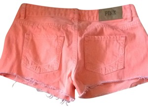 PINK by Victoria's Secret Shorts Neon Orange
