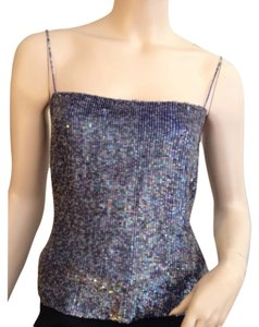 Collette Dinnigan Top Grey-purple