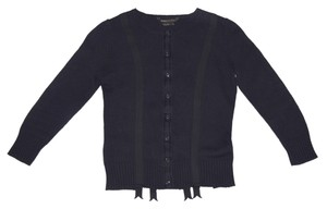 BCBGMAXAZRIA Three Quarter Length Sleeve Button Down Sexy Cute Detailed Adorable Sweater