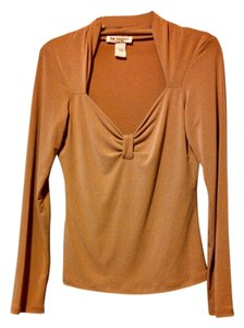 Lew Magram Top Beige
