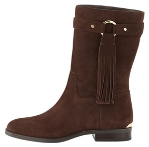 Michael Kors Coffee Suede Boots