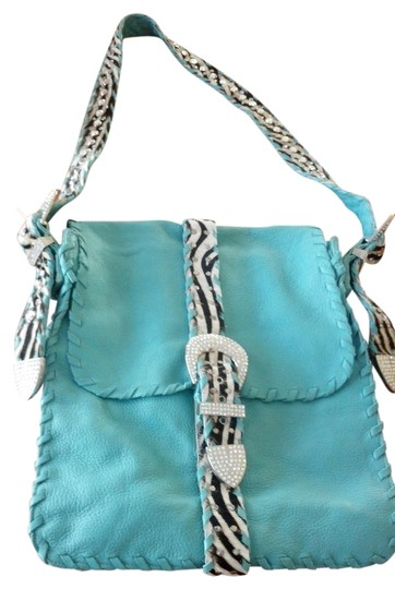 Charm and Luck Boho Western Embellished Hobo Bag