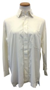 Issey Miyake Button Down Button Down Shirt White