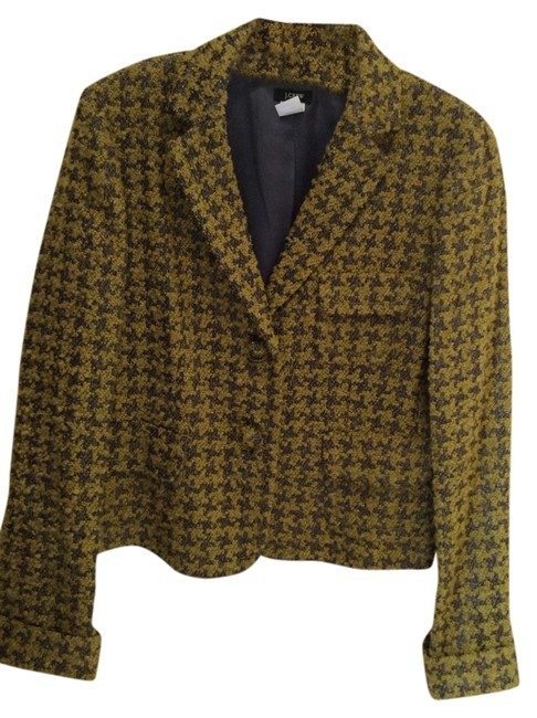 Preload https://img-static.tradesy.com/item/709756/jcrew-green-and-gray-blazer-size-10-m-0-0-650-650.jpg