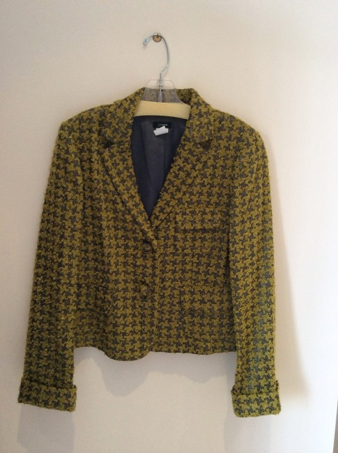 J.Crew Green and gray Blazer
