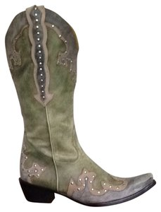 Gianni Bini Green Boots