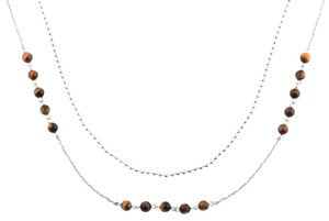 Unknown South African Tigers Eye Necklace