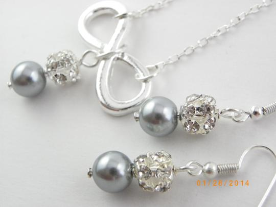 Other Sale Set Of 6 Infinity Bridesmaid Necklace And Earrings 6 Infinity Charm Necklace Set Of 6 Bridesmaid Necklace Infinity