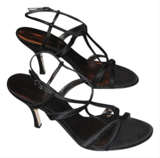 Façonnable Dress Like New Size 8.5 3 Inch Heels Black Sandals