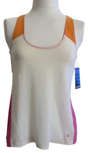 Hurley Top White/Pink/Orange