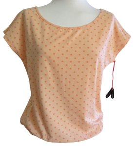 Poof Apparel Top Peach
