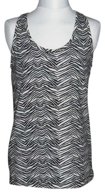 Preload https://item2.tradesy.com/images/blackwhite-new-without-medium-tank-topcami-size-10-m-710276-0-0.jpg?width=400&height=650