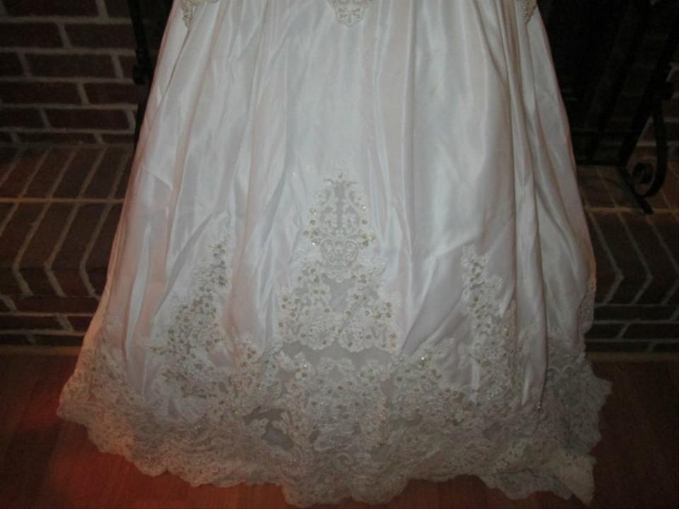 Alfred angelo made for jc penney wedding dress tradesy for Jcpenney bridesmaid wedding dresses