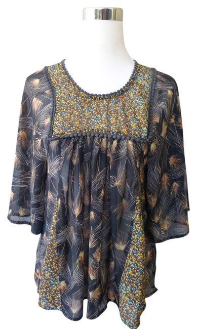Preload https://item1.tradesy.com/images/love-fire-brown-blouse-size-0-xs-710315-0-0.jpg?width=400&height=650