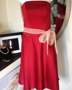 Garnet/Champagne Alfred Angelo's Beautiful Garnet/champagne Dress
