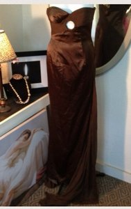 Jovani Coco Brown Perfect Coco Brown Bride/bm/formal Dress