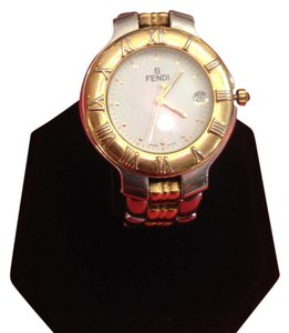 Fendi Fendi Watch Silver & Gold