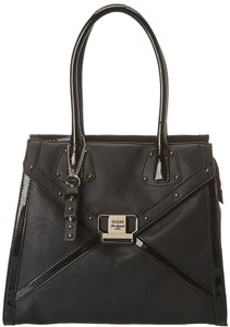 Guess 14 W X 12 H X 3 1/2 D Inches Satchel in Black