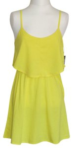 Hurley short dress Lemon on Tradesy