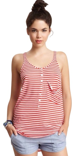 Preload https://img-static.tradesy.com/item/710691/ryka-red-and-white-beach-tank-topcami-size-8-m-0-0-650-650.jpg
