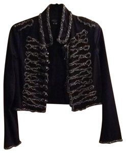 Gryphon Navy With Silver Embellishments Jacket