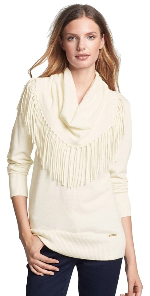 7b0a47335 MICHAEL Michael Kors Other Colors Sizes Available Fringe Cowl Neck ...