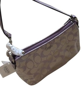Coach Satchel in SV/Lilac White/Lilac