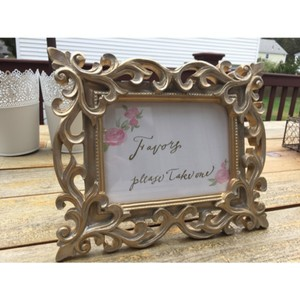 Hand Painted Sign In Frame