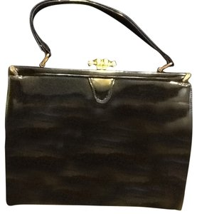 Saks Fifth Avenue Satchel in Black
