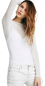 Free People Layering Sexy Lace Sweater