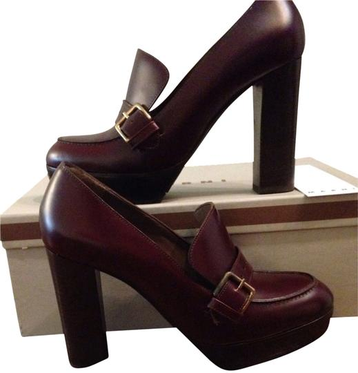 Marni Wine Pumps